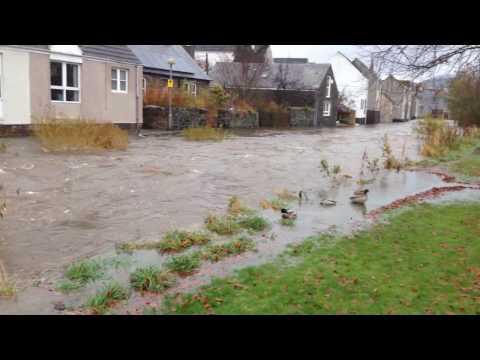 Peebles Flood 22.11.2016