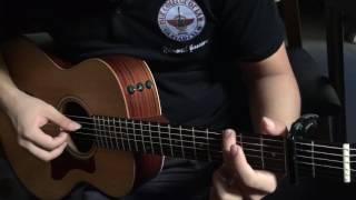 Lá diêu bông fingerstyle guitar