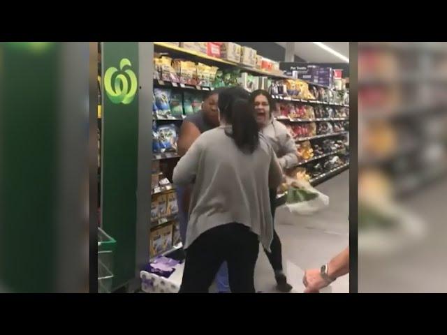 Bogans Fight In Supermarket Over 'Bowel Towels'  | Triple M