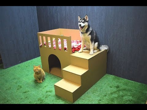 how-to-make-puppy-dog-house-from-cardboard