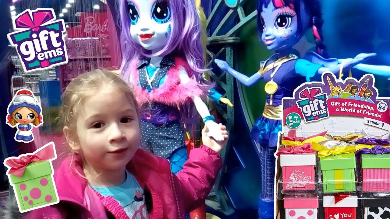 gift ems игрушки подарки Дружбы GIFT EMS на русском Детский мир куклы Эквестрия Герлз