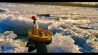 ЛУПОГЛАЗКА КЛЮЁТ ОДНА ЗА ОДНОЙ зимняя рыбалка 2020