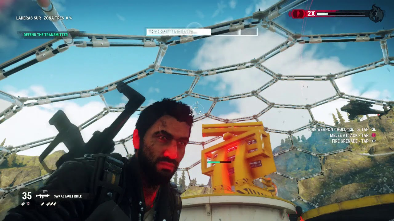 Just Cause 4 - Zona Tres Upload - Flip The Brakers To Power Down The Wind Nest
