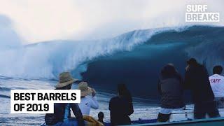 WSL Surf Breaks: Best Barrels of 2019 // World Surf League