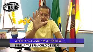 MANHÃ COM DEUS * 12/07/2020 * MARCOS  5 vers 1 A  20 * APÓSTOLO CARLOS ALBERTO * TABERNÁCULO DE DEUS