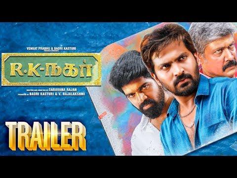 R K Nagar Official Trailer Reaction | Vaibhav | Venkat Prabhu | Premgi Amaran | Saravana Rajan