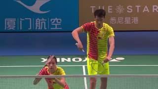 XIAMENAIR Australian Badminton Open 2016 | SF M1-XD | Lu/Huang vs Chan/Goh