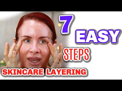 HOW TO LAYER SKINCARE 2020/ TOP 7 TIPS!!