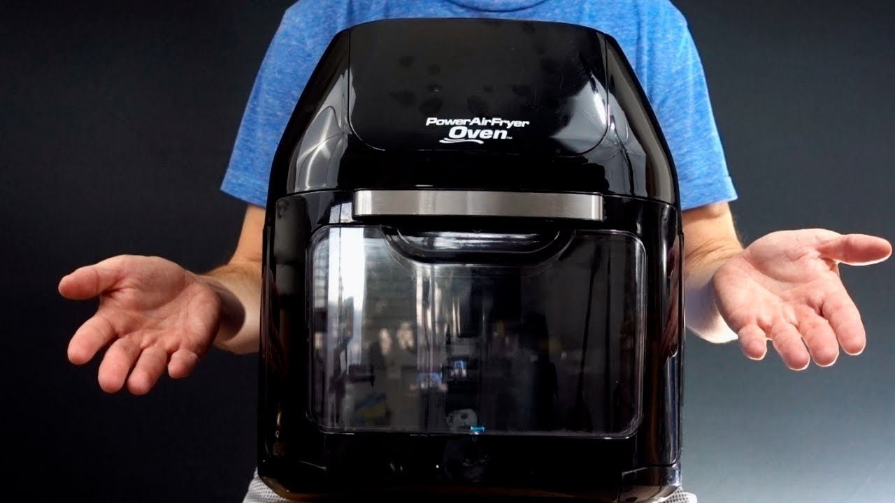 Power Airfryer Oven Review First Look Youtube