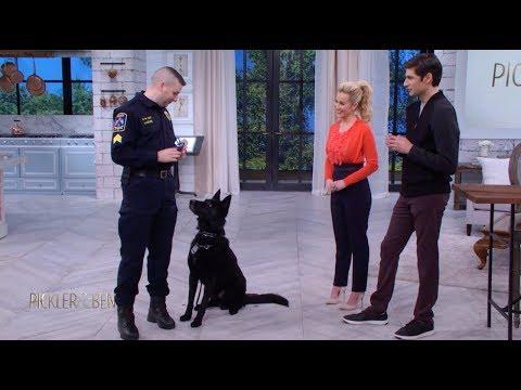 Meet Jett the Police Dog!  Pickler & Ben