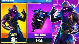 "How To Get ""RAVEN"" Skin In FORTNITE For FREE!! *WORKING* 2018!"