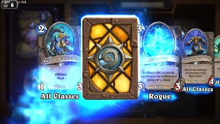 Cursed Castaway - The Witchwood Hearthstone rare card pack opening