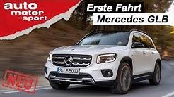 Der neue Mercedes GLB:  Fast schon eine Mini-G-Klasse? -  Fahrbericht/Review | auto motor und sport