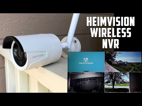 HeimVision HM241 Wireless Security Camera System Unboxing and Review