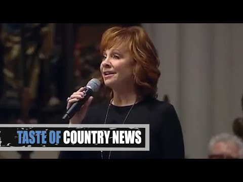 Reba McEntire Sings The Lords Prayer at President Bushs Funeral