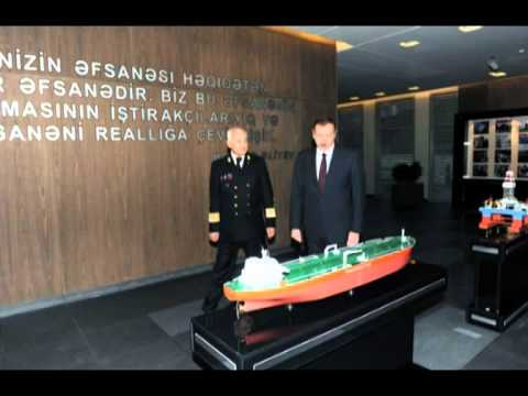 Aliyev Ilham inaugurates State Maritime Administration's new building