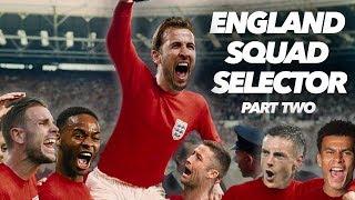 ENGLAND WORLD CUP SQUAD SELECTOR 🛫 | LALLANA VS LOFTUS-CHEEK (2/2)