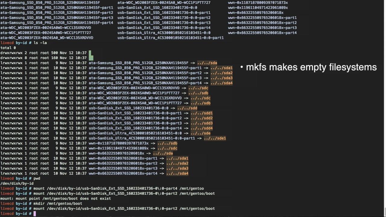 how to install gentoo linux
