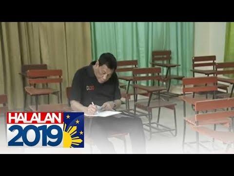PANOORIN: Duterte bumoto sa Davao City