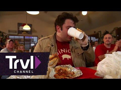 Man v. Food: The Shut Juice Challenge