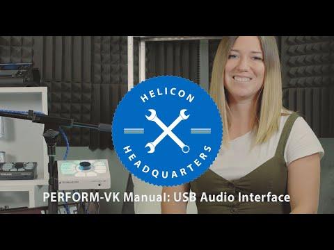 PERFORM-VK Manual E11: USB Audio Interface