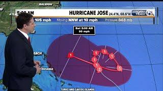 Hurricane Jose 5 a.m. advisory
