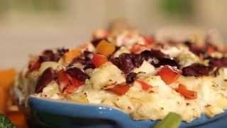Layered Hot Artichoke And Feta Dip