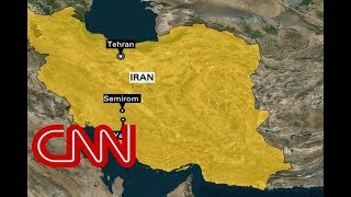Plane crashes in Iran with dozens on board