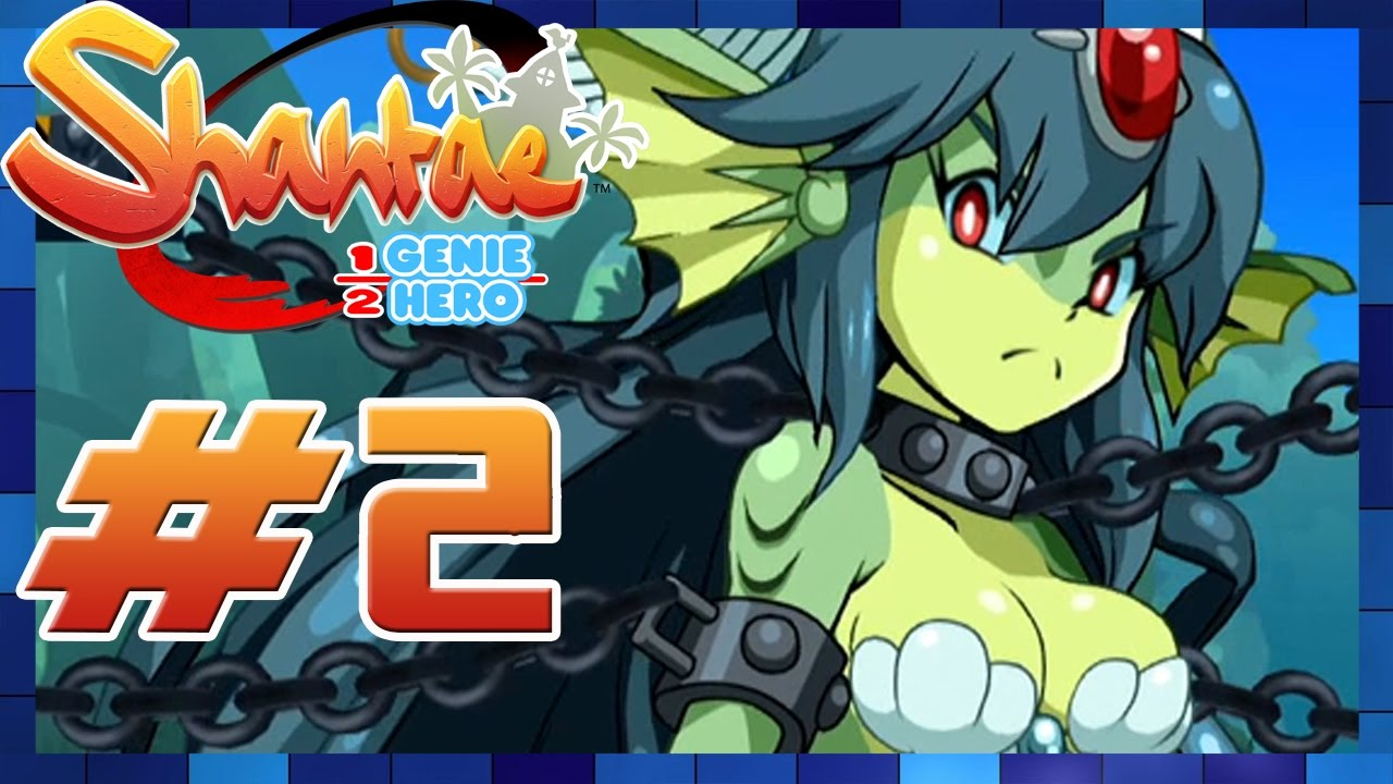 Download Shantae: Half-Genie Hero - Walkthrough Part 2 Mermaid Falls Boss: Giga Mermaid