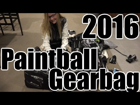 2016 Paintball Gear Bag w|Brianna