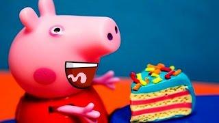 Мультик Свинка Пеппа ТОРТИК Новые серии 2016 Peppa pig Мультфильмы для детей