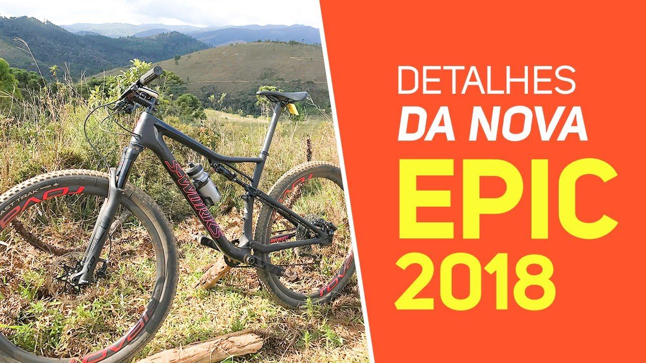 6d1e5fced Detalhes da nova Specialized Epic 2018 - Revista Ride Bike - YouTube