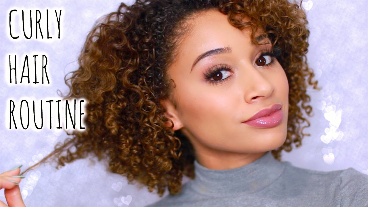 my hair is curly how can i style it my curly hair routine bleached color treated hair 8169 | maxresdefault
