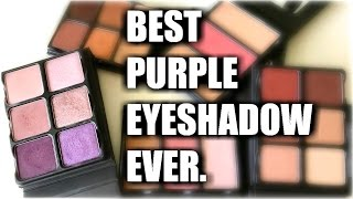 BEST PURPLE EYESHADOW EVER | Viseart Theory Palette Reviews