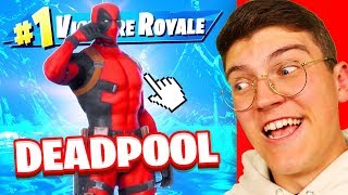 Je débloque le skin DEADPOOL sur FORTNITE !