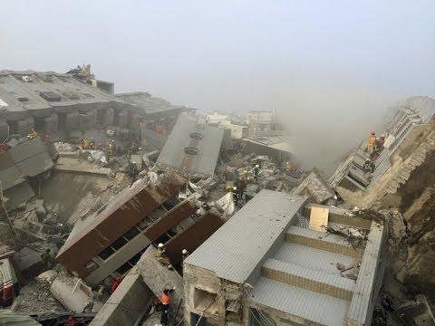 EARTHQUAKE 6.4 HIT TAIWAN TODAY FEBRUARY 5, 2016