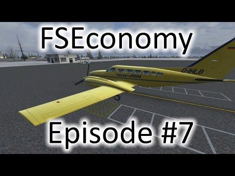 FSX | FSEconomy - Ep. #7 - Med. Supplies to Trenton, Ontario | C404 Titan