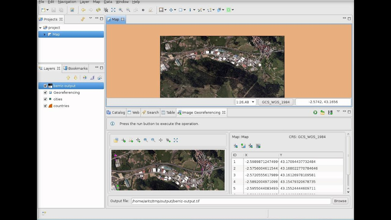 User-friendly Desktop Internet GIS: 2011
