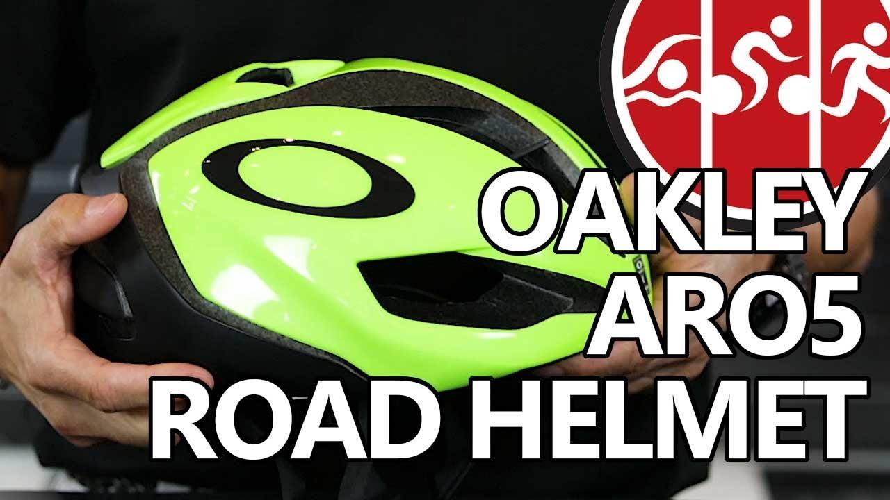 df666f604d Oakley ARO5 Aero Road Helmet (2018) - YouTube