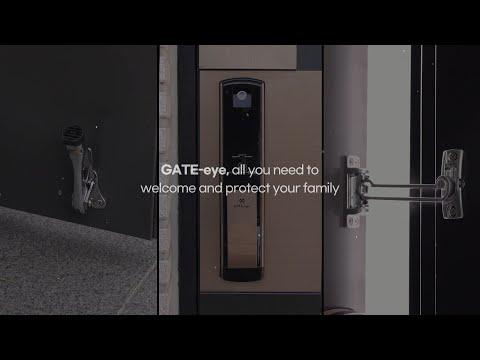 GATE-eye MSP330 Push Pull Touchscreen Digital Door Lock