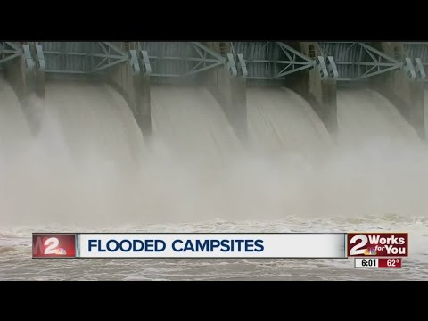 Eufaula Dam Opens To Control Lake Level