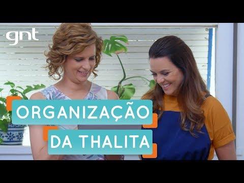 Será que a Thalita Carvalho é bagunceira? | Organização | Santa Ajuda | Micaela Góes