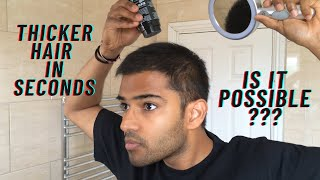 How to apply confiDense Hair Fiber