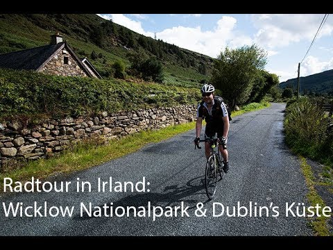 cycle tour in Ireland: Wicklow National Park and coast of Dublin