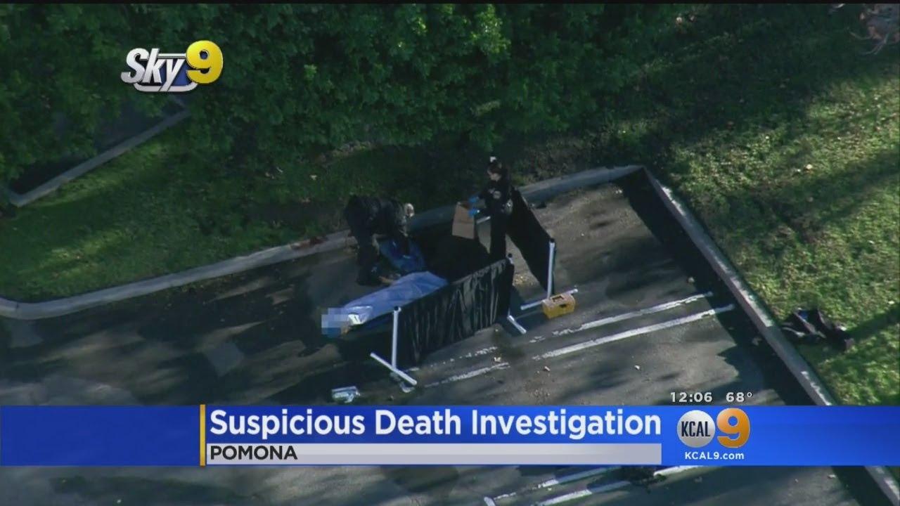 Man Killed In Possible Stabbing In Pomona Parking Lot