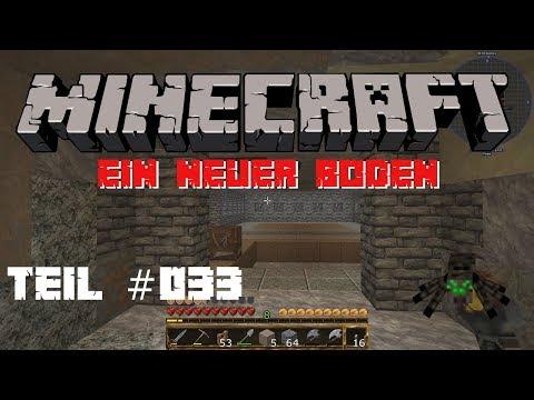 Minecraft Let´s Play - #033 - Ein neuer Boden [1080P][Deutsch]