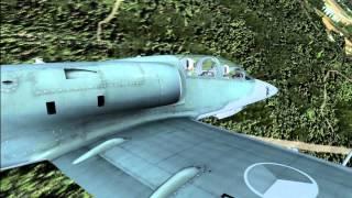 FSX L-39 fllight - High graphics settings HD - GTX 580 - Maksymalne ustawienia grafiki