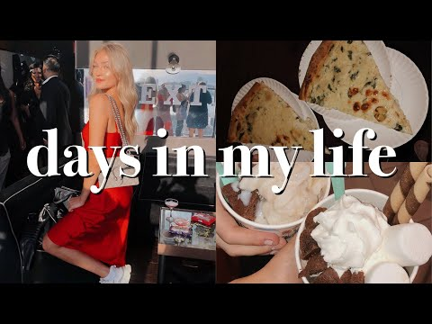 days in my life: influencer events, hauls, & dance show thumbnail