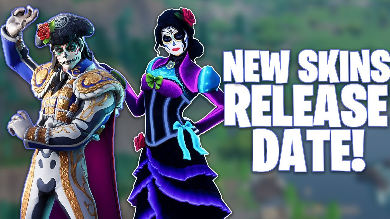 Fortnite rosa and dante skins release date youtube - Fortnite dante ...