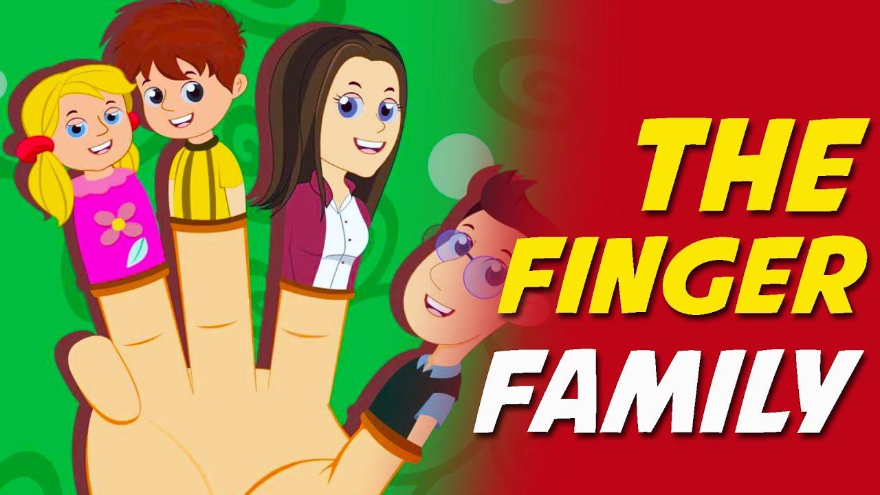 The Finger Family Nursery Rhyme Youtube